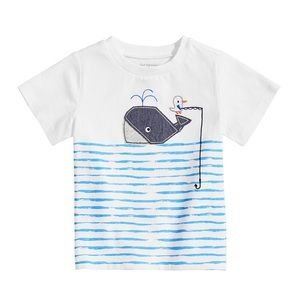 NWT First Impressions Whale Graphic T-Shirt 12mo